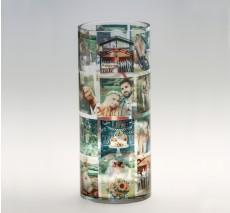 Cylinder Memory Vase - color