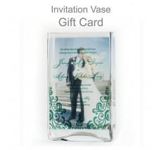 Invitation Memory Vase Gift Card