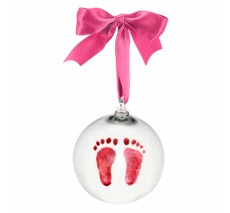 Footprint Ornament with Kit